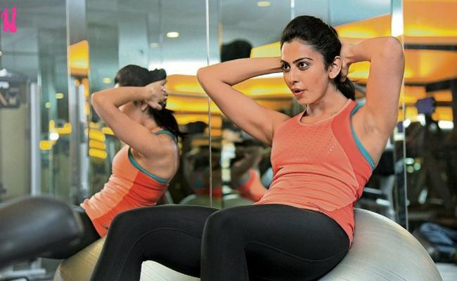 Rakul Preet Sing Workouts For NGK Movie - Sakshi