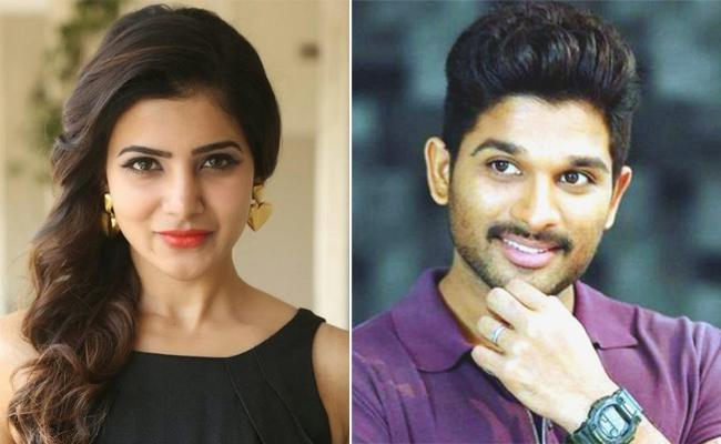 Allu Arjun Is The Hardworker Tweets Samantha - Sakshi