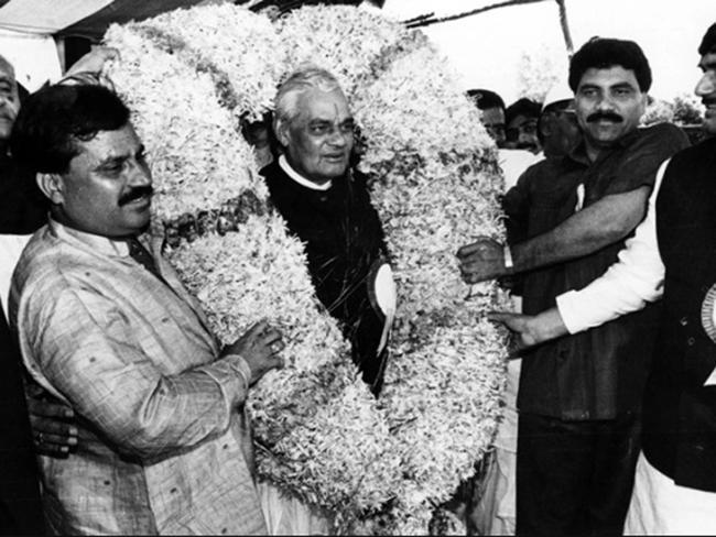Special Story On Atal Bihari Vajpayees Political Journey - Sakshi