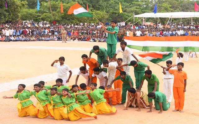 Independence Day Celebrations  - Sakshi