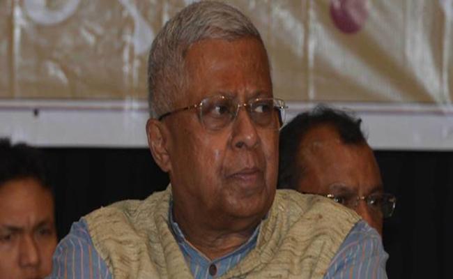 Tripura Governor Tathagata Roy announces Vajpayee Is Dead - Sakshi