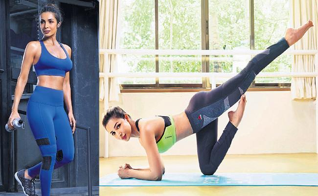 Latest Fashion Trends For Gym Workouts - Sakshi