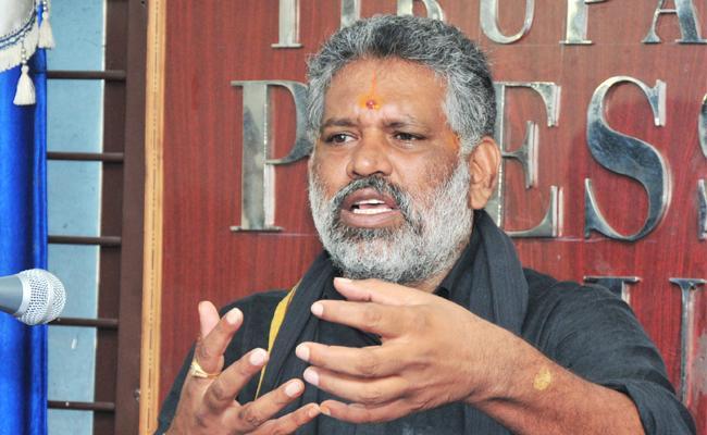 Chevireddy Bhaskara Reddy Slams TDP Government Chittoor - Sakshi
