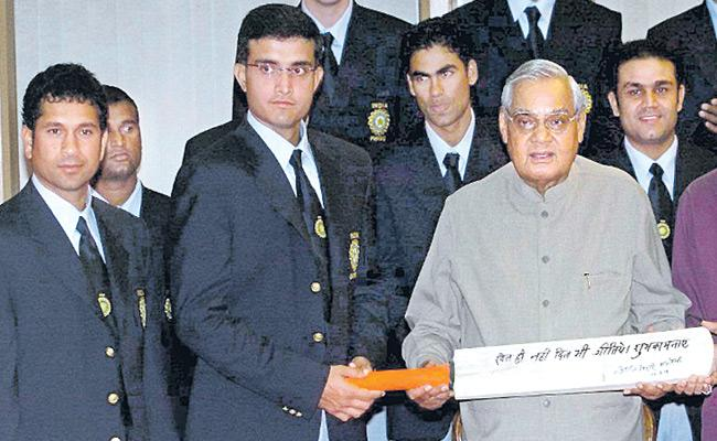 Atal Bihari Vajpayee, a cricket bat and India's historic 2004 tour of Pakistan - Sakshi