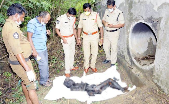 Unknown Person Murder In Guntur - Sakshi