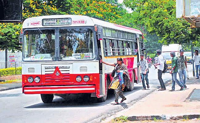 RTC Losses With Heavy Maintenance In Hyderabad - Sakshi