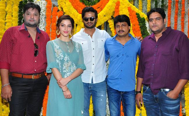 Sudheer Babu And Mehreen New Movie Shooting Started - Sakshi