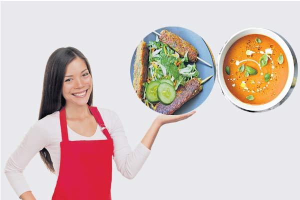 Food garnishing tricks - Sakshi
