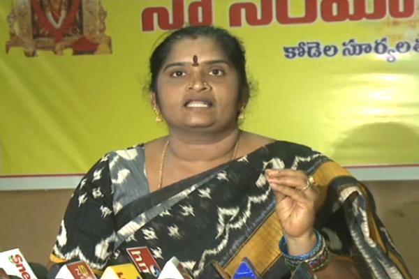 Kodela Suryalatha Comments On Kanaka Durga Temple Chairman - Sakshi