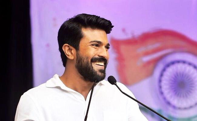 Ram Charan As Police Officer In Boyapati Film - Sakshi