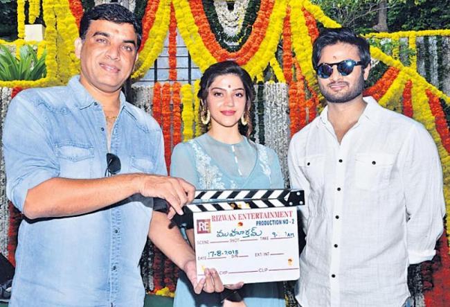 sudheer babu, mehreen new movie launch - Sakshi