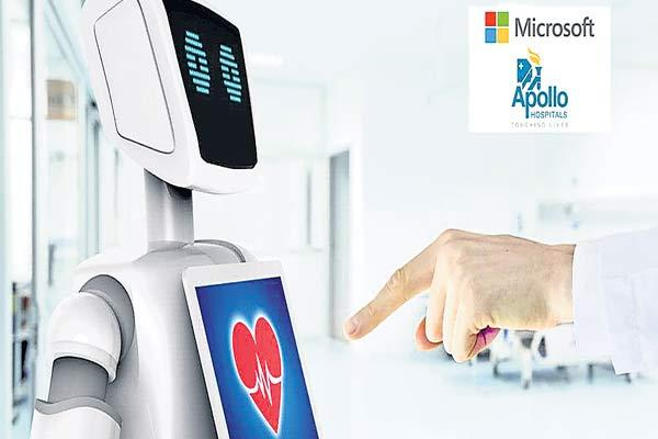 Apollo Hospitals in pact with Microsoft - Sakshi