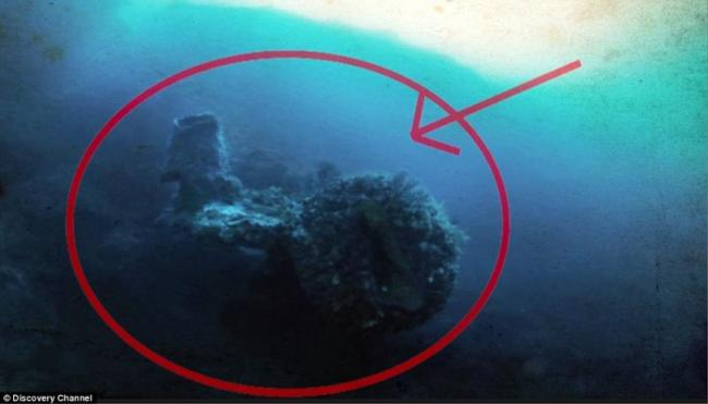 Treasure Hunter Claims He Found an Alien Spaceship Under The Sea - Sakshi
