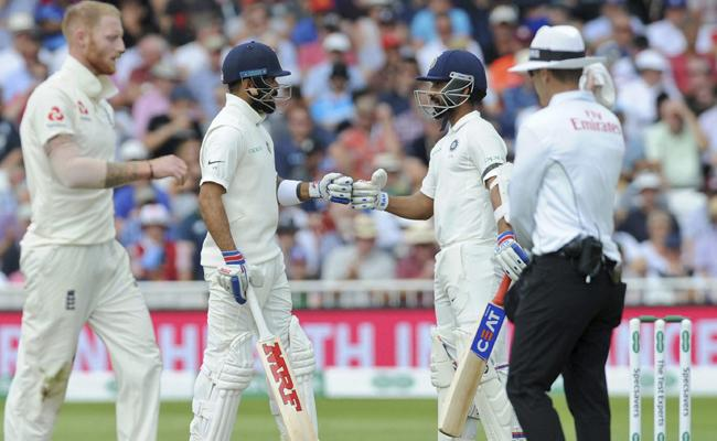 England Won The Toss And Chose To Field In Nottingham Test Against India - Sakshi