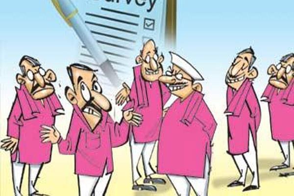 TRS Leaders Tension Elections Karimnagar - Sakshi
