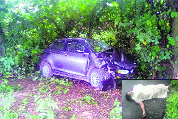 Woman killed in car accident at West Godavari district - Sakshi