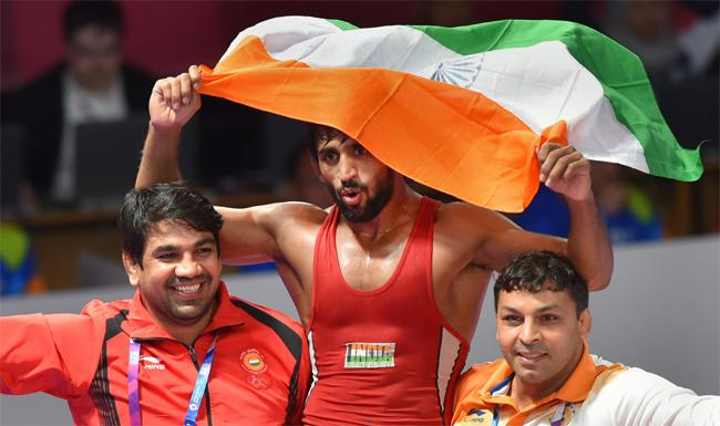India Wins First Gold At Asian Games 2018 - Sakshi