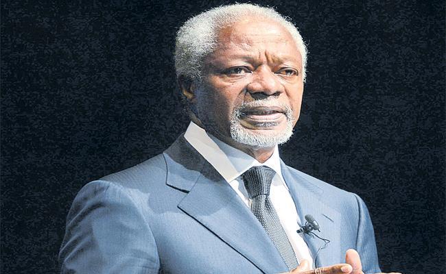 Former UN  Secretary General  Kofi Annan Died - Sakshi