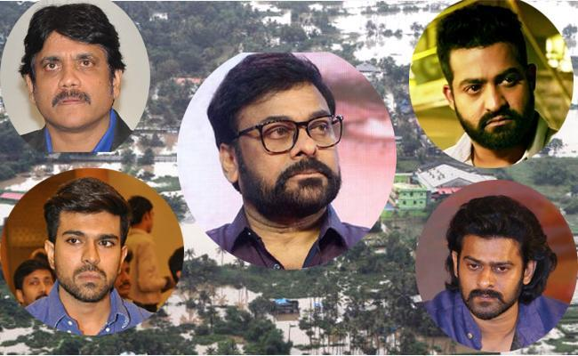 Tollywood Step Forward To Donate Towards Kerala Relief Funds - Sakshi