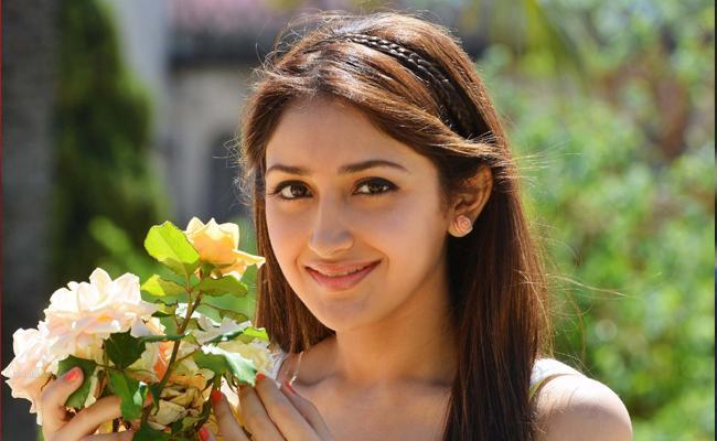 Sayesha Demanding Huge Remuneration For Next - Sakshi