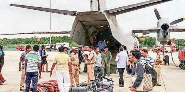 AP CM Chandrababu Naidu Send NDRF Teams to Kerala - Sakshi