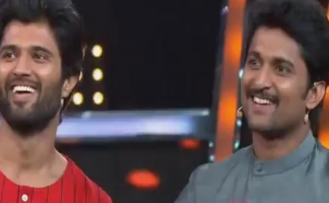 Bigg Boss Telugu 2 Vijay devarakonda Entry - Sakshi