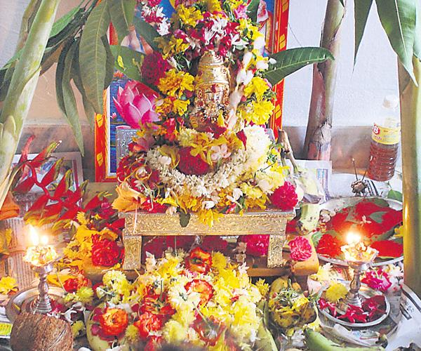 Varalakshmi Vratham Pooja Procedure - Sakshi