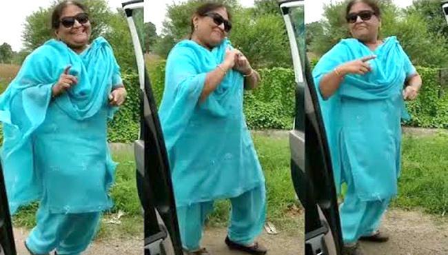 Vadodara Aunty Kiki Challenge Shakes The Internet - Sakshi