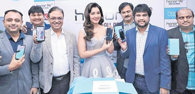 Honor 9 smart phone in Big C - Sakshi