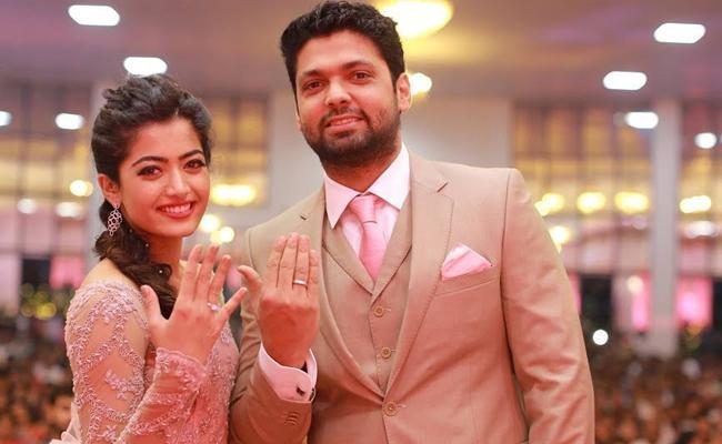 Rashmika Rakshit Break Up Rumours Viral - Sakshi