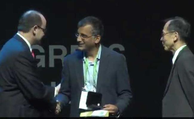Indian-origin Akshay Venkatesh Gets Fields Medal - Sakshi