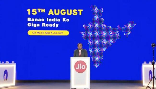 JioGigaFiber Plans Surface Ahead Of Rollout - Sakshi