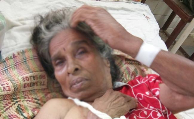 Daughter In Law Attack On Elderly Woman Guntur - Sakshi
