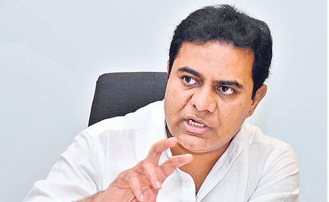 KTR Fires On TPCC Chief Uttam Kumar ReddyAnd Congress - Sakshi