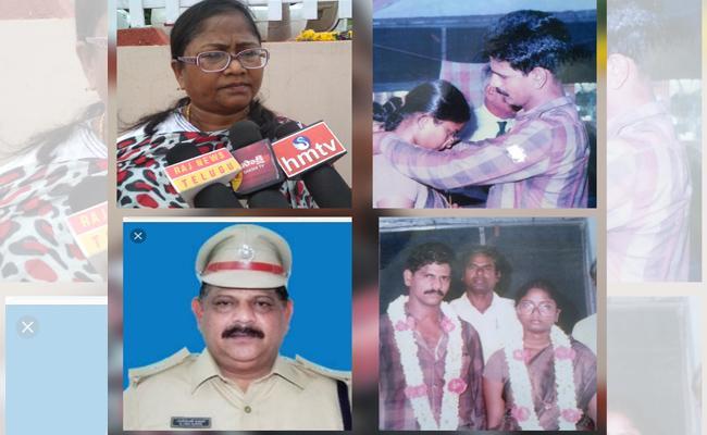 Police Wife Complaint Against Husband In Visakhapatnam - Sakshi