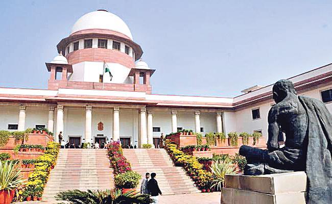 Supreme Court Trial On Polavaram  - Sakshi