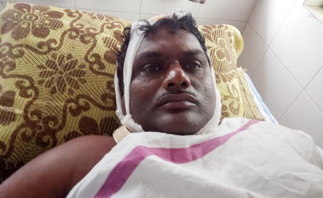 Murder Attempt On Lover Husband In Thenali Guntur - Sakshi