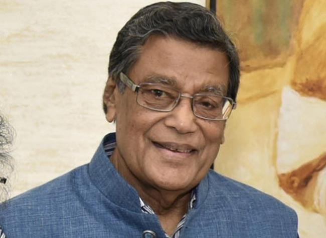 AG Venugopal donates Rs 1 crore - Sakshi