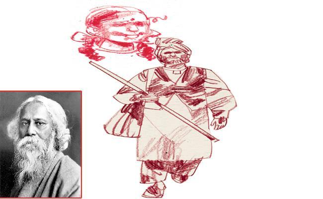 Rabindranath Tagore Kabuliwala Story - Sakshi