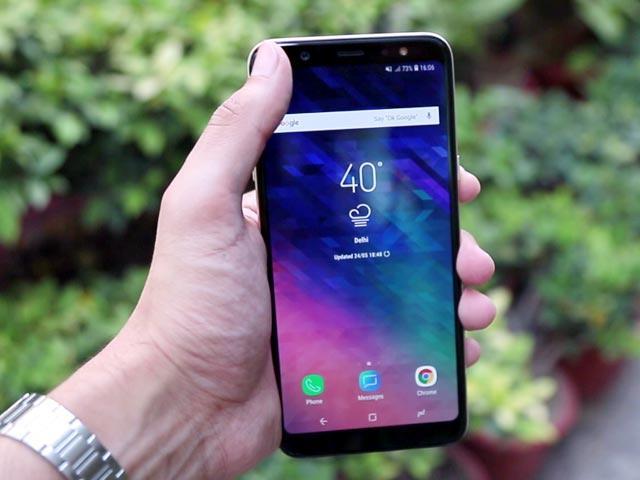 Samsung Galaxy A6+ Price Cut In India Again - Sakshi