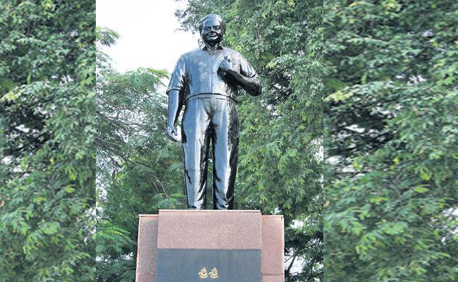 Sri Sri Statue Issue High Court Response - Sakshi