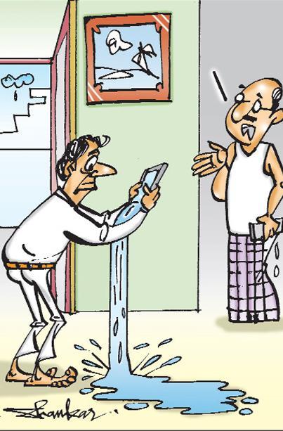 sakshi cartoon(21-08-2018) - Sakshi