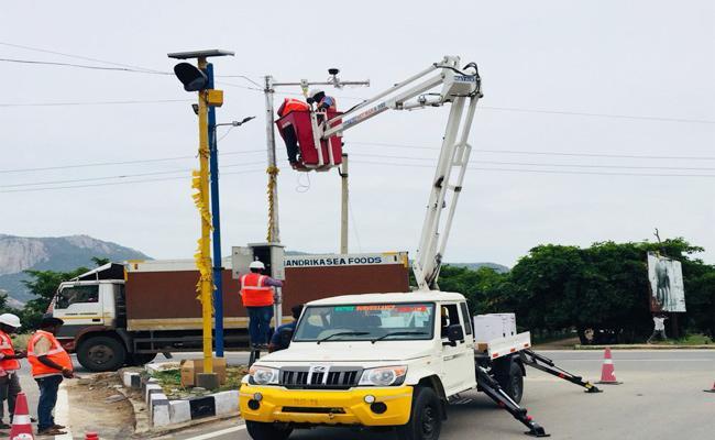 New Technology In Tirupati For Crime Control - Sakshi