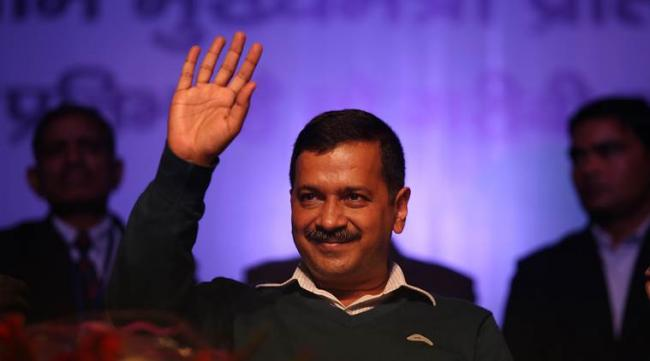 Kejriwal Says Contest Between AAP And BJP Only In Delhi - Sakshi
