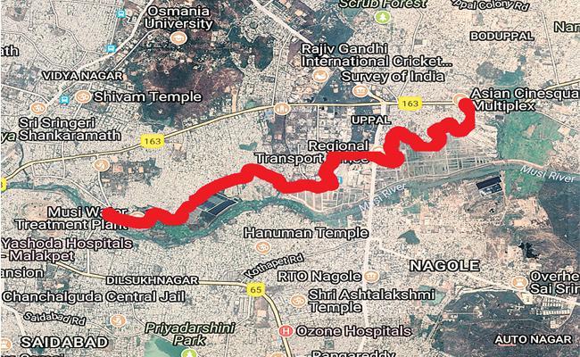 Amberpet To Boduppal Express Way - Sakshi