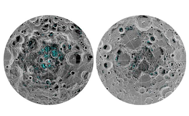 NASA Confirmed  Water And Ice On Moon - Sakshi