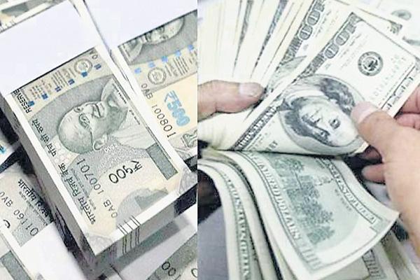 Rupee Gains 38 Paise Against US Dollar - Sakshi