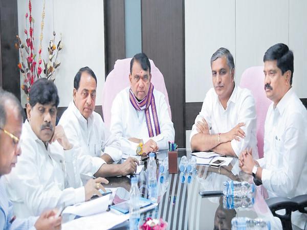 Good news for SRSP Basin farmers - Sakshi
