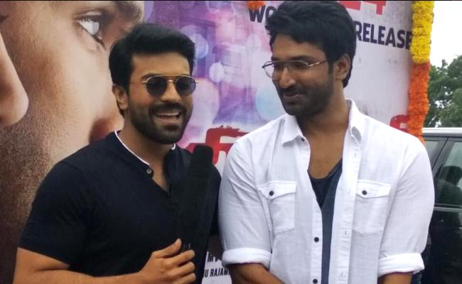 Ram Charan Launched The Latest Trailer Of Neevevaro - Sakshi