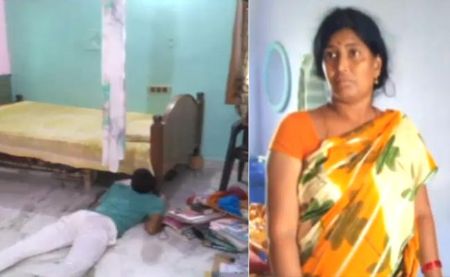 Woman Kills Son for Objecting Extra Marital Affair - Sakshi